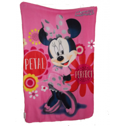 Plaid polaire Disney Minnie